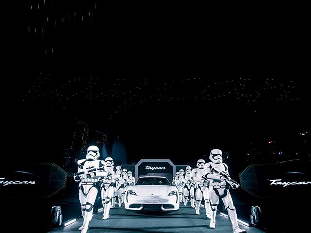Porsche cùng Star Wars hợp tác trong sự kiện ra mắt Taycan tại Châu Á - Thái Bình Dương