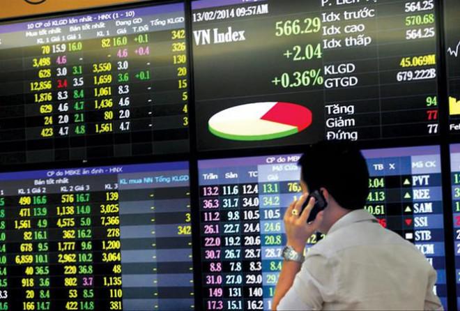 Thị trường chứng khoán cuối năm: Nhà đầu tư thận trọng vì... thua lỗ - 1