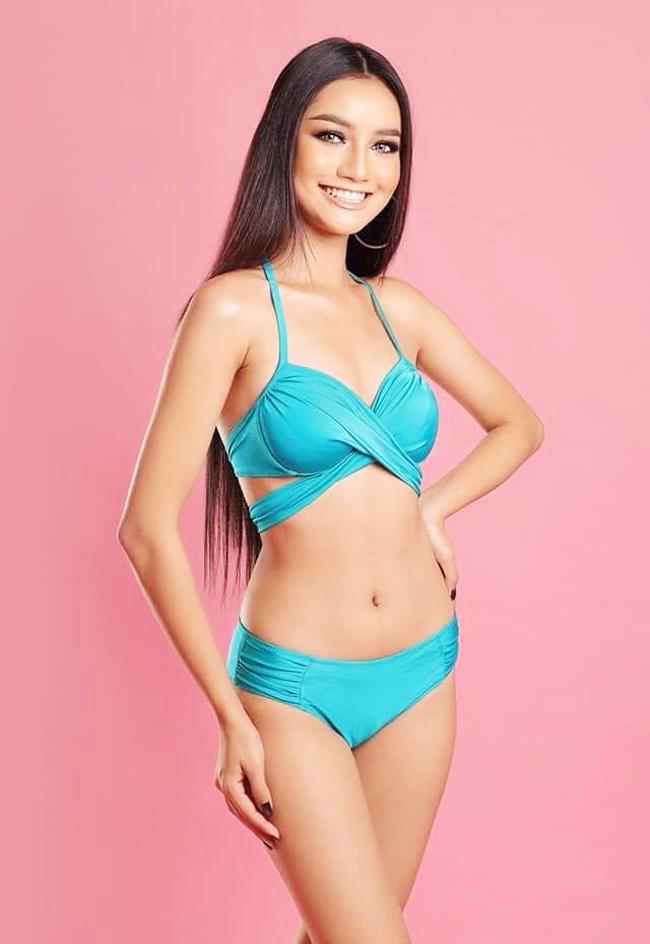 Somnang Alyna năm nay 18 tuổi, là một trong những thí sinh nhỏ tuổi nhất Miss Universe.