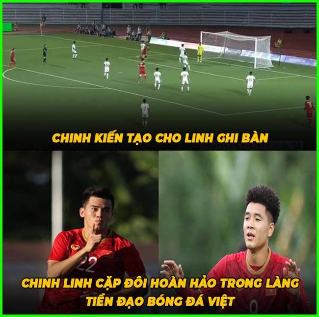 Cặp đôi tiền đạo hoàn hảo hiện tại của bóng đá Việt Nam.
