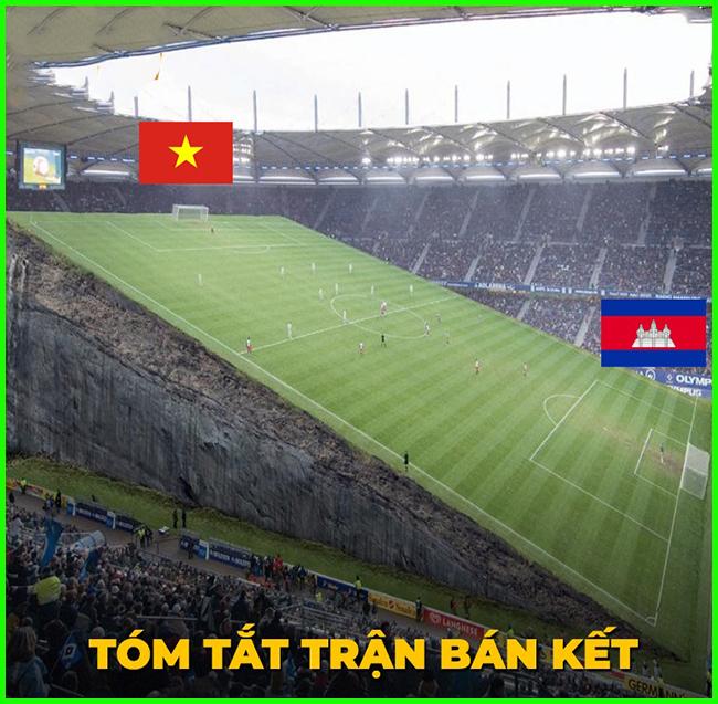Diễn biến trận đấu giữa U22 Việt Nam và U22 Campuchia.