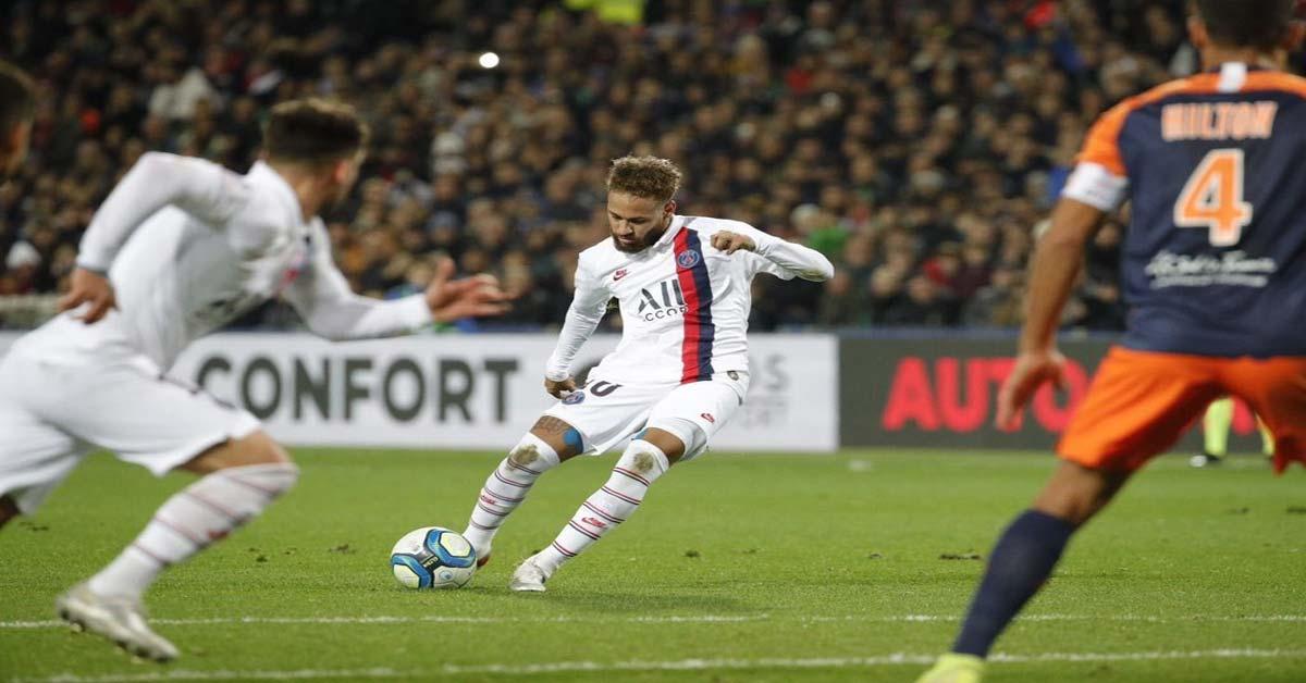 Video highlight trận Montpellier - PSG: Ngỡ ngàng phản lưới, xoay chiều sau thẻ đỏ - 1