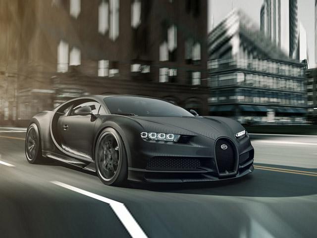 Bugatti vén màn hai siêu phẩm Chiron sản xuất giới hạn 20 chiếc trên toàn thế giới