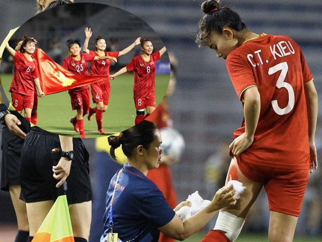 Tuyển nữ VN vô địch SEA Games: Sao Việt ồ ạt tặng tiền thưởng, quà cáp