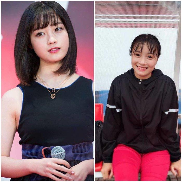 """Ảnh ngoài đời xinh xắn của hot girl tuyển bóng đá nữ VN là """"bản sao"""" của ca sỹ Nhật Bản - 1"""