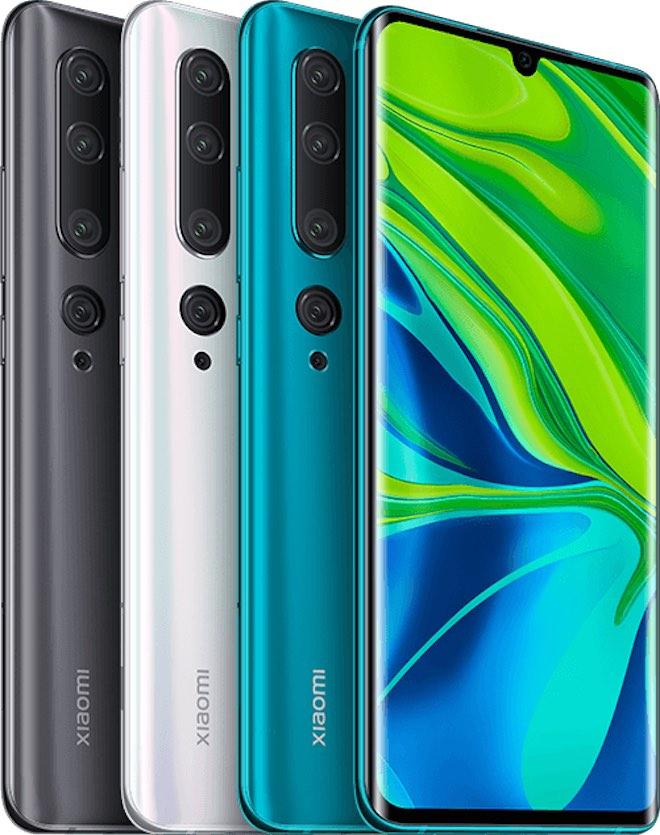 """Xiaomi giới thiệu Mi Note 10 với camera 108MP """"siêu khủng"""", giá 12,99 triệu - 1"""