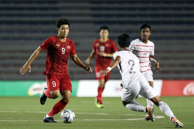 """U22 Việt Nam tập kín đấu Indonesia chung kết SEA Games: Thầy Park """"mật chỉ"""" học trò - 1"""