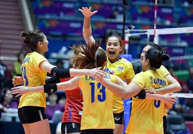 Video bóng chuyền Nữ Việt Nam - Thái Lan: Đỉnh cao chung kết, 3 set định đoạt (Chung kết SEA Games) - 1