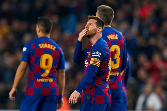 Điểm nóng vòng 16 La Liga: Messi bùng nổ đón Bóng vàng, đua song mã gay cấn - 1