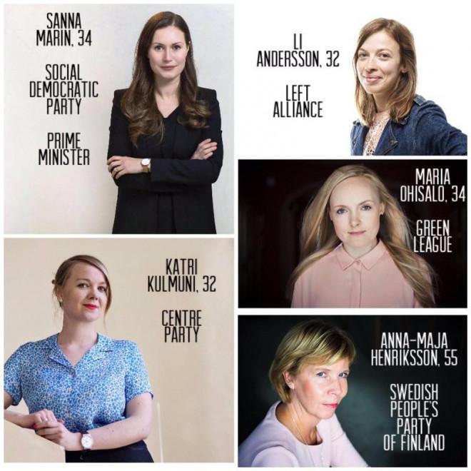 """Ngoài nữ Thủ tướng trẻ nhất, Phần Lan còn có các nữ lãnh đạo """"siêu"""" trẻ, đẹp - 1"""