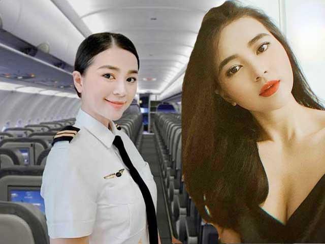 """""""Nữ phi công đẹp nhất Việt Nam"""" giữ nhan sắc như hoa dù tăng 10kg"""