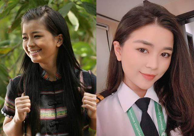 """""""Nữ phi công đẹp nhất Việt Nam"""" giữ nhan sắc như hoa dù tăng 10kg - 1"""