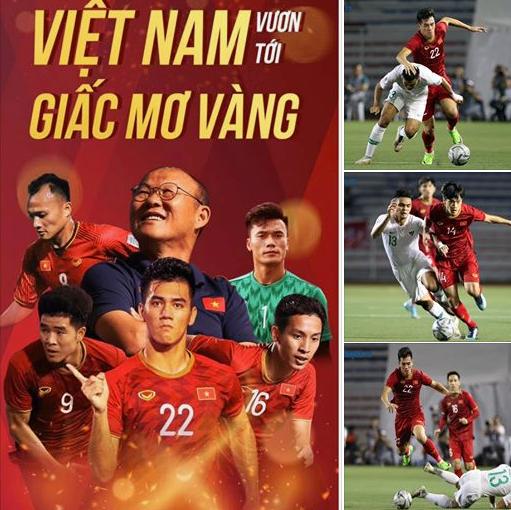 """Chung kết U22 VN - Indonesia: Mỹ nhân Việt """"nói là làm"""" cổ vũ tuyển VN - 1"""
