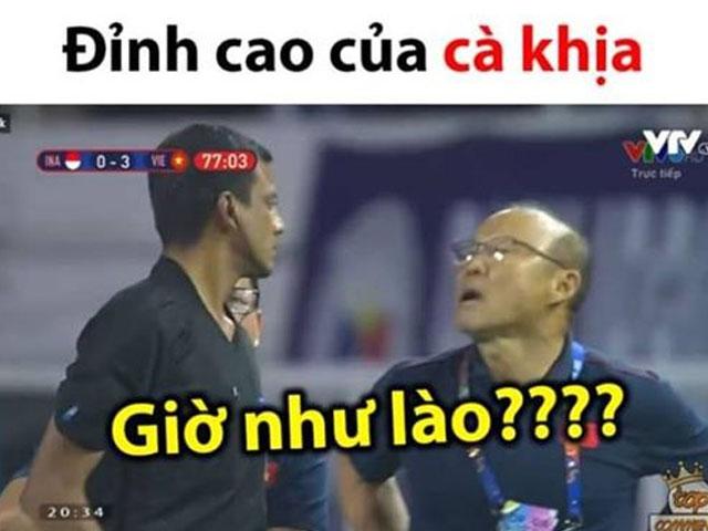 U22 VN vô địch SEA Games: HLV Park nhận thẻ đỏ khiến sao Việt phản ứng không ngờ