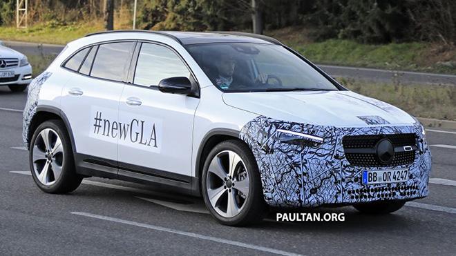 Mercedes-Benz GLA 2020 lộ ảnh chi tiết trước ngày ra mắt - 1