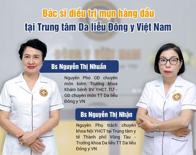 """Những """"gương mặt vàng"""" trị mụn hiệu quả tại Phòng chẩn trị YHCT Da liễu Đông y Việt Nam - 1"""