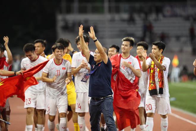 U22 Việt Nam vô địch SEA Games 30: HLV Park Hang Seo xin lỗi vì tấm thẻ đỏ - 1