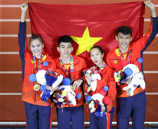 """Việt Nam cán mốc 80 HCV SEA Games: Indonesia """"hít khói"""", đẳng cấp Thái Lan - 1"""