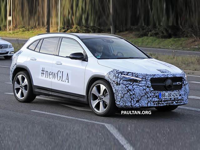 Mercedes-Benz GLA 2020 lộ ảnh chi tiết trước ngày ra mắt