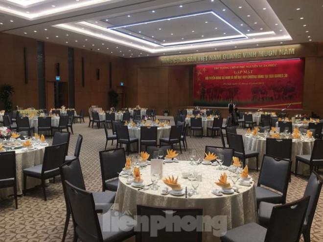 Bữa tiệc mừng các tuyển thủ Việt Nam ở Văn phòng Chính phủ có gì? - 1