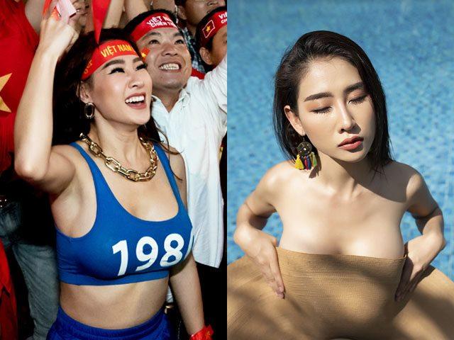 """DJ """"gợi cảm nhất châu Á"""" tung ảnh nude mừng U22 VN vô địch SEA Games"""