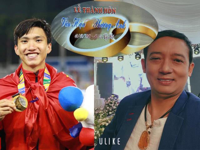 Chiến Thắng đi đám cưới Văn Hậu sau SEA Games: Sự thật ngã ngửa