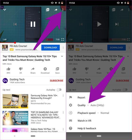 4 cách tiết kiệm dữ liệu 4G khi xem video trên YouTube - 1