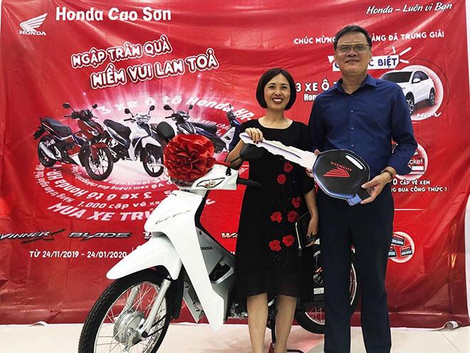 Hàng trăm xe máy Honda đã được trao tay sau 2 tuần khuyến mãi - 1