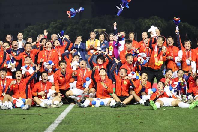 """U22 VN hoàn tất giấc mơ HCV SEA Games: Dấu ấn đặc biệt của """"Phù thủy"""" Park Hang Seo - 1"""
