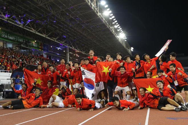 Việt Nam sau HCV SEA Games: Quang Hải và những SAO nào dự U23 châu Á? - 1