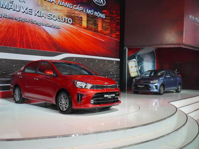 Top 10 mẫu xe bán chạy nhất tháng 11/2019: Kia Soluto lần đầu tiên xuất hiện