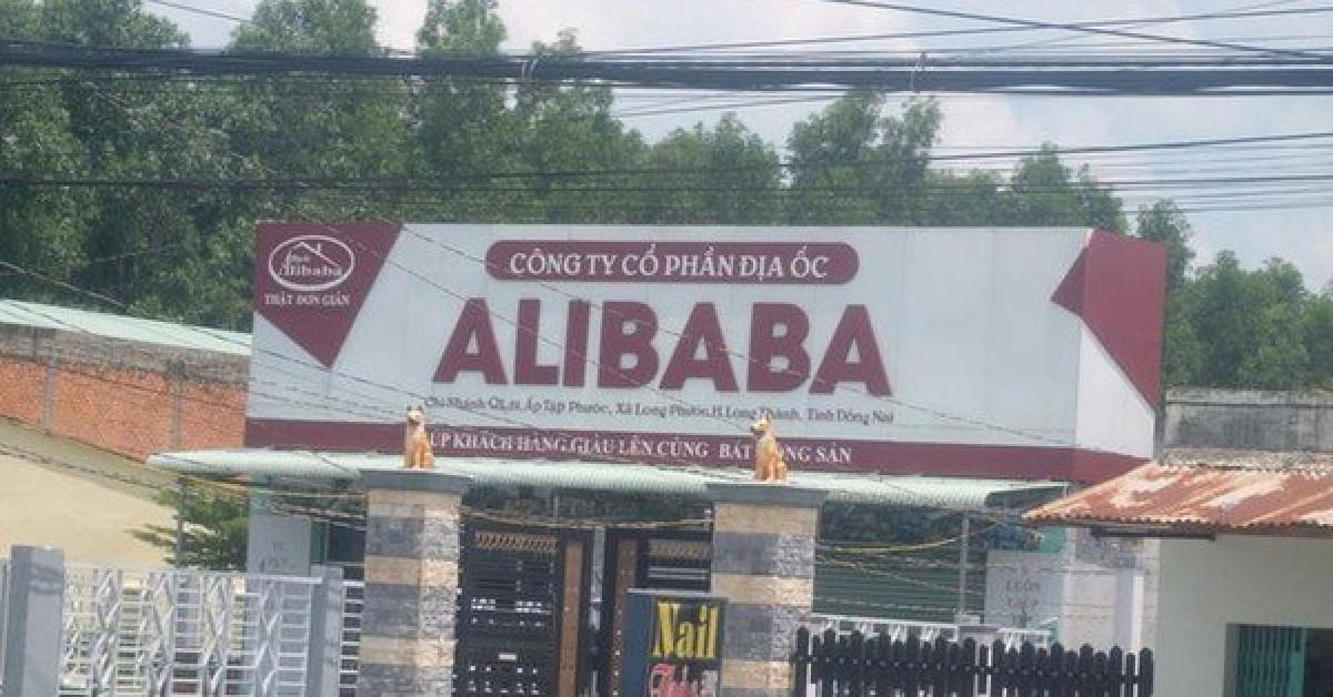 """UBND huyện Long Thành """"dính"""" sai phạm của Alibaba? - 1"""