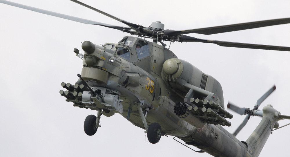 """""""Thợ săn đêm"""" Mi-28 của Nga vừa bị rơi khiến 2 phi công thiệt mạng uy lực ra sao? - 1"""