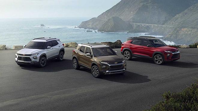 Chevrolet Trailblazer 2021 công bố giá bán chính thức từ 461 triệu đồng - 1