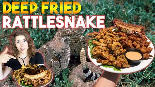Công thức gia truyền biến con vật đáng sợ như rắn đuôi chuông thành đặc sản cực hấp dẫn - 3