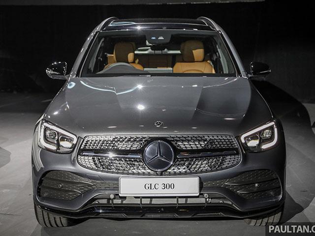 Soi độ đẹp của Mercedes-Benz GLC mới vừa ra mắt tại Malaysia