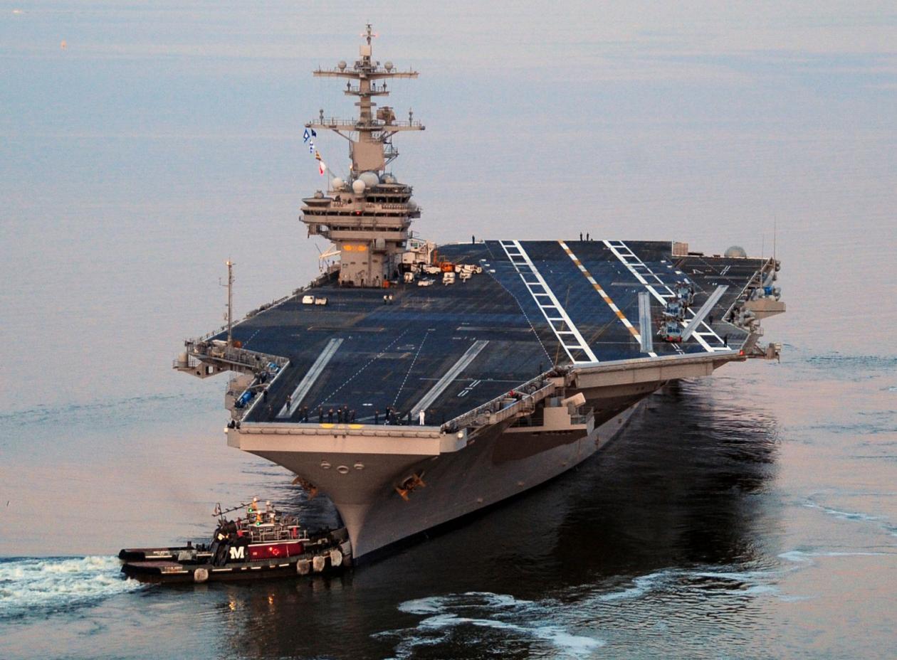 Vì sao TQ quyết đánh chìm tàu sân bay Mỹ bằng được nếu xung đột nổ ra? - 1