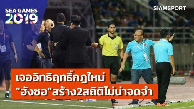 Báo Thái Lan: HLV Park Hang Seo lập kỷ lục mới nhờ... nóng tính - 1