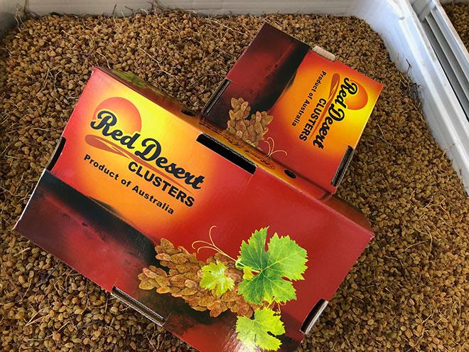 Loạn giá và chất lượng nho khô nguyên cành nhập Úc - 1
