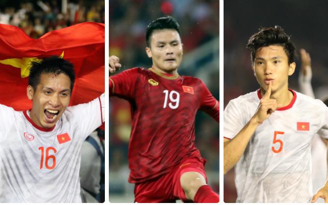 Đua Quả bóng vàng Việt Nam 2019: 3 người hùng SEA Games chờ hạ bệ Quang Hải - 1