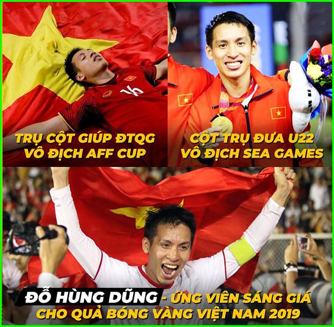 Ứng cử viên nặng ký cho quả bóng vàng Việt Nam 2019.