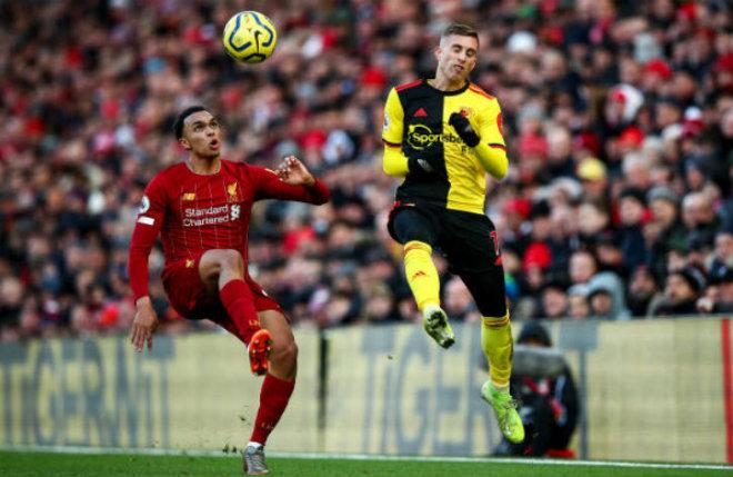Video highlight trận Liverpool - Watford: Ngôi sao rực sáng & cú đánh gót kết liễu - 1