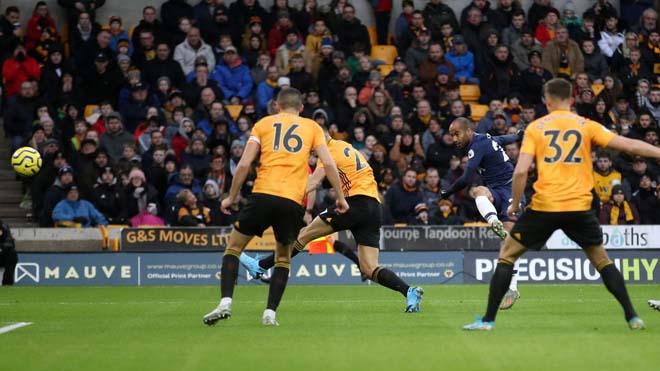 Video highlight trận Wolverhampton - Tottenham: Phủ đầu điện xẹt, định đoạt phút 90+1 - 1