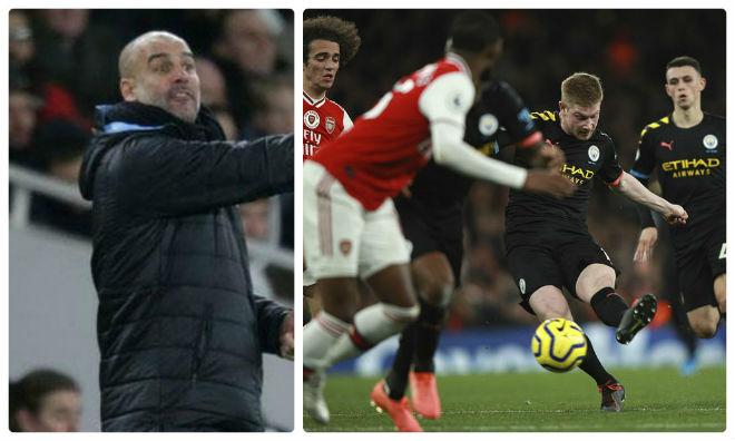 Man City đè bẹp Arsenal: Pep vẫn cay cú MU, quyết không đầu hàng Liverpool - 1