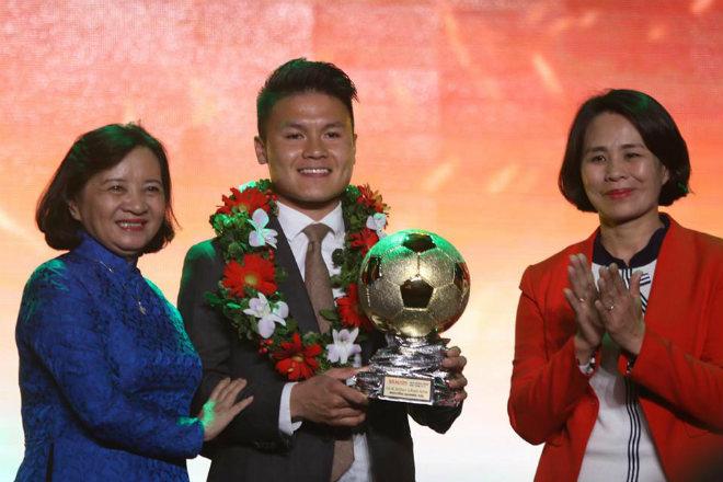 Đề cử Quả bóng Vàng Việt Nam 2019: 24 SAO thách thức Quang Hải - 1