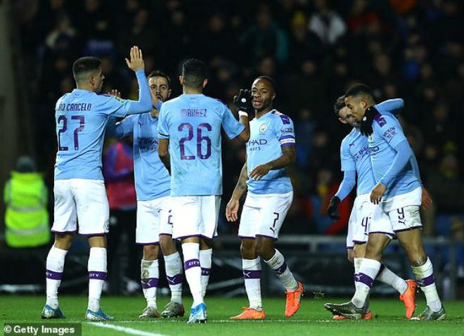 Video highlight trận Oxford United - Man City: Cú đúp siêu sao, vỡ mộng gây sốc - 1