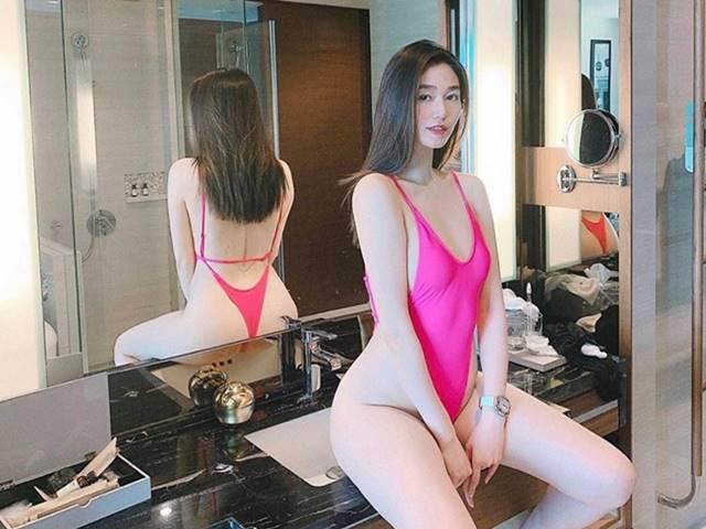 Tình cũ Lương Bằng Quang, Khánh My mê mốt áo tắm thách thức người nhìn