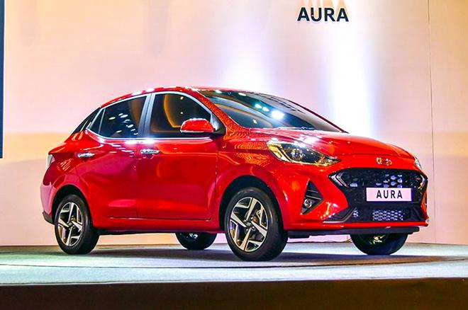 Cận cảnh Hyundai Aura mới được ra mắt tại Ấn Độ - 1