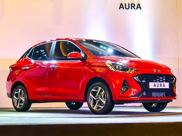 Cận cảnh Hyundai Aura mới được ra mắt tại Ấn Độ