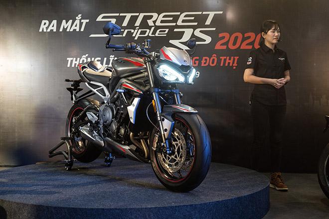 Triumph ra mắt mẫu xe Street Triple RS 2020 tại Việt Nam, giá 435 triệu đồng - 1